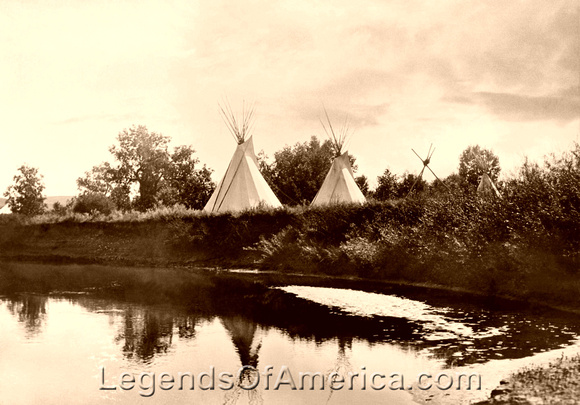how to make a blackfoot tipis