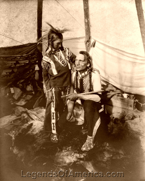 Blackfoot Indian Nation - Real People of Montana