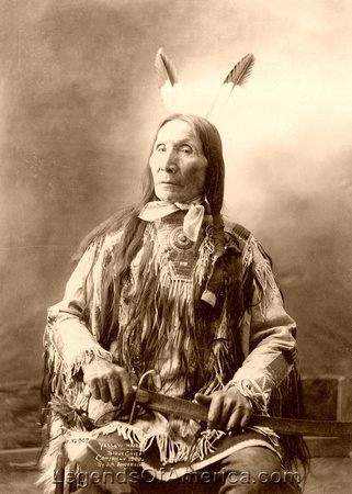 Dakota Sioux - Chief Yellow Hair