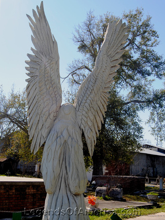 Bay St. Louis, MS - Cemetery Angel