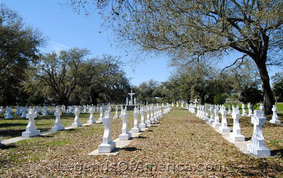 Bay St. Louis, MS - Brothers Sacred Heart Cemetery