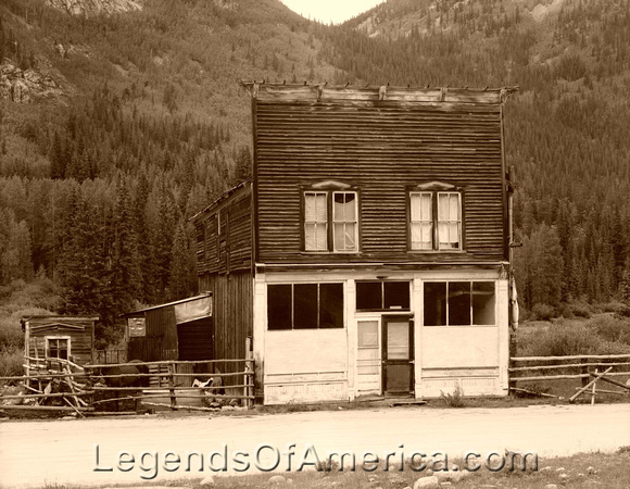 Legends Of America Photo Prints St Elmo Alpine Tunnel
