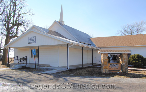 Beaulah, KS - Church