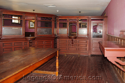 Wichita, KS - Old Cowtown - Bank Interior