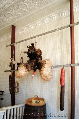 Wichita, KS - Old Cowtown - Meat Market Interior - 2