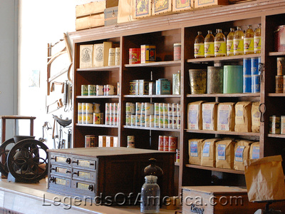 Wichita, KS - Old Cowtown - General Store Interior - 5