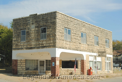 Cambridge, KS - Stockman's Cafe