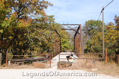 Elk Falls, KS - Iron Truss Bridge