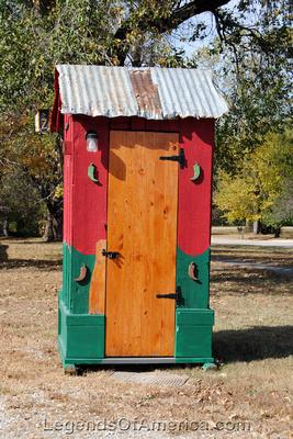 Elk Falls, KS - Outhouse