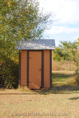 Elk Falls, KS - Outhouse - 8