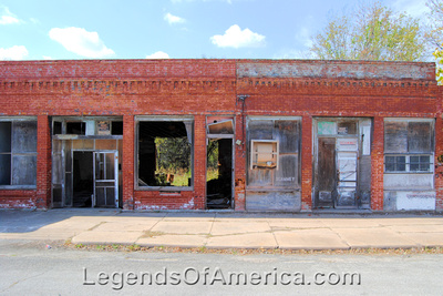 Elk City, KS - Building Ruins - 2