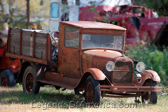 Elk City, KS - Old Truck