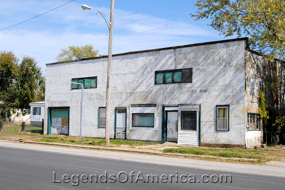 Elk City, KS - Old Building