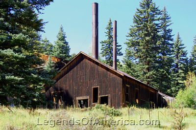 Eagle Nest, NM - Idlewild Klondyke Mine