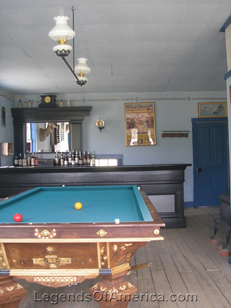 South Pass City, WY - Miners Exchange Saloon Interior