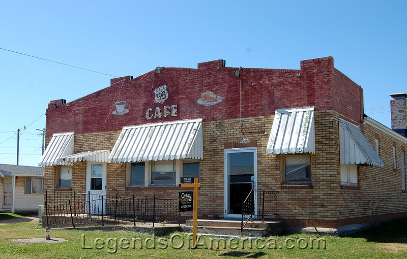 Legends Of America Photo Prints Central Illinois Litchfield Il Belvidere Cafe Motel And Gas Station