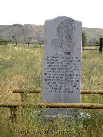Fort Washakie, WY - Chief Washakie Monument