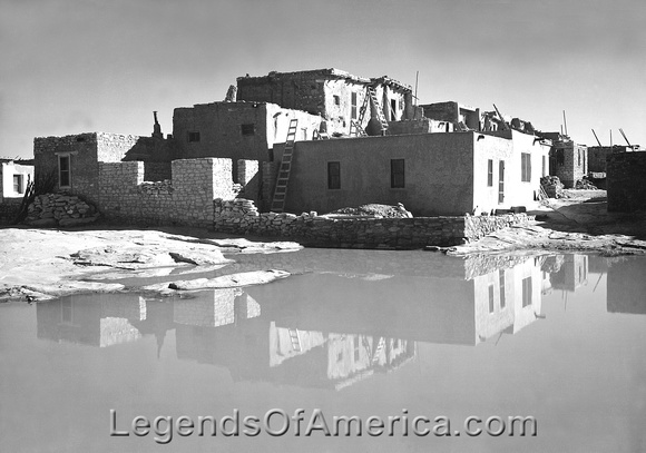 Acoma Pueblo, NM - About 1942