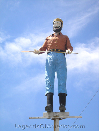 Albuquerque, NM - Bunyan Man