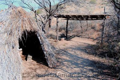 Fort Bowie, AZ - Apache Camp