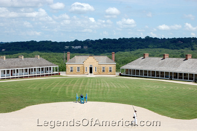 Fort Snelling, MN - View From Above