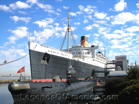 Long Beach, CA - Queen Mary