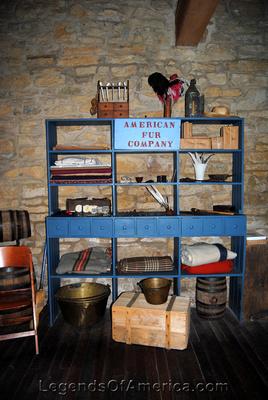 Mendota, MN - Sibley Historic Site Fur Trading