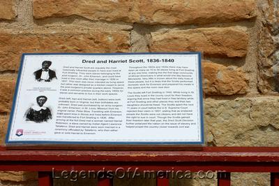Fort Snelling, MN - Dred Scott Marker
