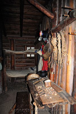 North West Co. Trading Post, MN - Bunk Room
