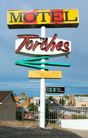 Barstow, CA - Torches Motel