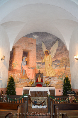 Goliad, TX - Presidio La Bahia Loreto Chapel Interior