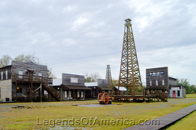 Beaumont, TX - Boomtown Museum