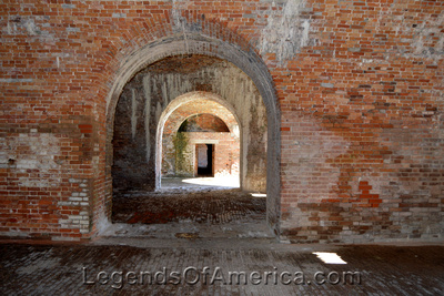 Gulf Shores, AL - Fort Morgan Tunnels