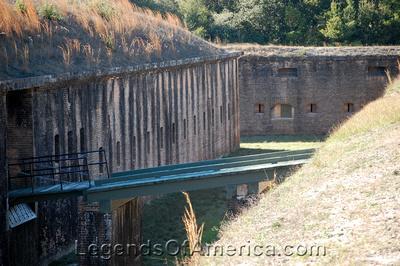 Pensacola, Fl - Fort Barrancas Entryway