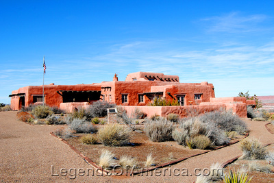 Painted Desert, AZ - Painted Desert Inn - 2