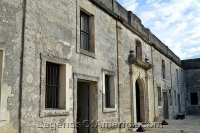 St. Augustine, FL - Castillo de San Marcos Interior Wall