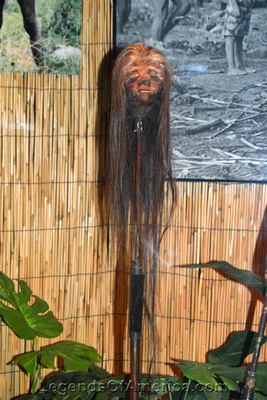 St. Augustine, FL - Ripleys Museum Shrunken Head