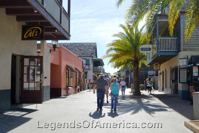 St. Augustine, FL - St. George Street