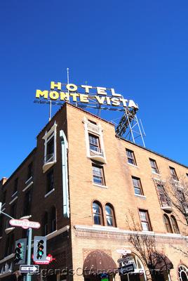 Flagstaff, AZ - Monte Vista Hotel