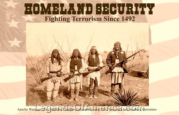 legends of america photo prints geronimo homeland security