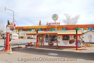 Seligman, AZ - Snowcap Drive-In - 2