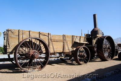 Furnace Creek, CA - Furnace Creek Ranch Old Dinah - 2