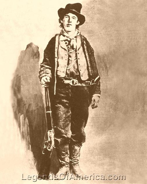Civil War Book Billy The Kid