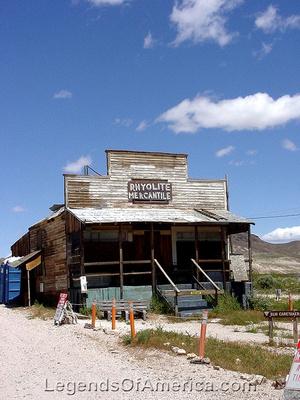 Rhyolite, NV - Mercantile