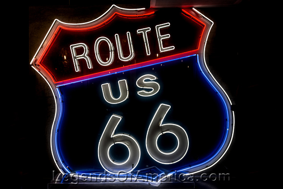 West Hollywood, CA - Route 66Sign