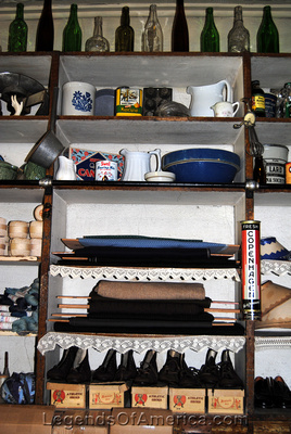 High Amana, IA - General Store Interior - 2
