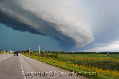 Green Bay, WI - Storm North of Green Bay-4