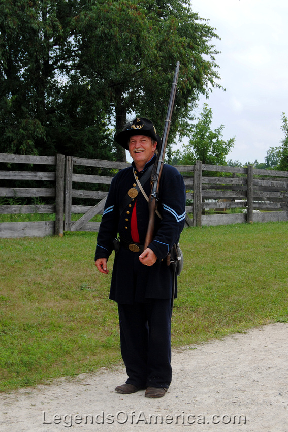 Old World Wisconsin - Union Soldier Re-enactor