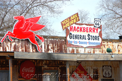 Hackberry, AZ - General Store Signs