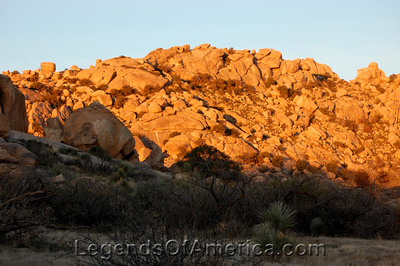 Indian Bread Rocks, AZ - Landscape